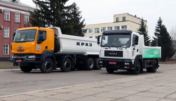 Українські КрАЗи їздять на заборонених двигунах