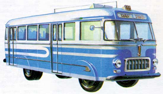 Серійний міський автобус РАФ-251