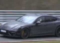 Porsche тестує новий Panamera Turbo (відео)