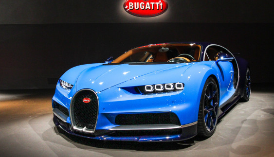 Все о новом супер-Bugatti. За 1 минуту