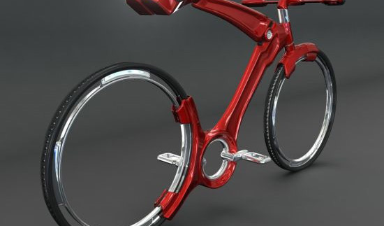 Нічого зайвого: футуристичний концепт велосипеда