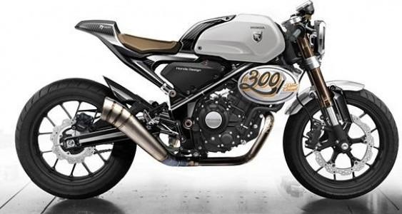 Honda представила концепт 300 TT Racer