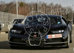 Bugatti Chiron за 2,4 мільйона євро помітили на дорогах загального користування