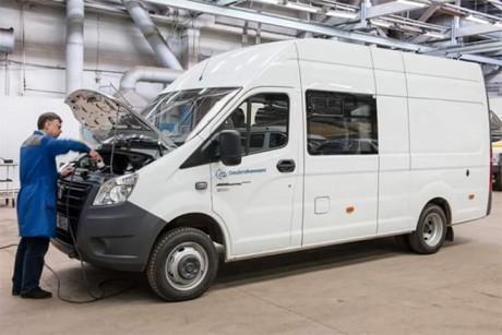 У Росії представили експериментальний електромобіль ГАЗель-Next Electro (фото)