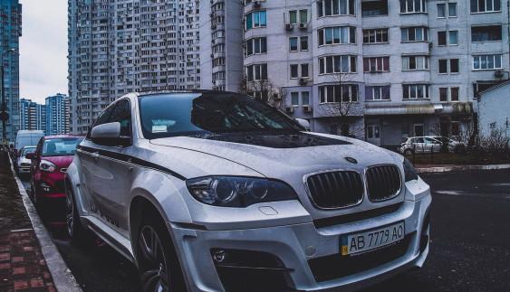 В Україні засвітився ексклюзивний BMW X6 за 500 000 доларів ?!