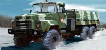 КрАЗ-260 – потужна вантажівка військового та цивільного призначення