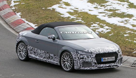 Нову Audi TT помітили під час тестів