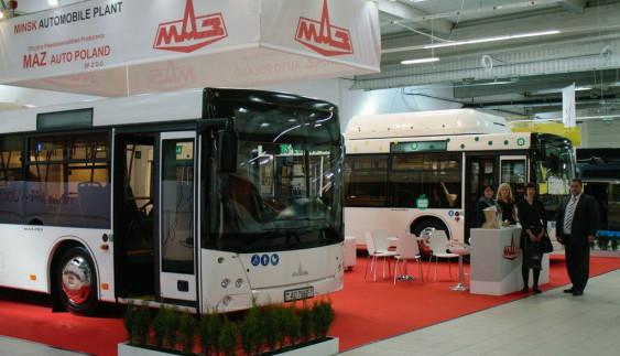 МАЗ показав новітні автобуси
