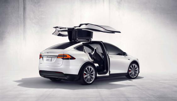 Українець отримав перший в Україні електричний кросовер Tesla Model X (Фото)