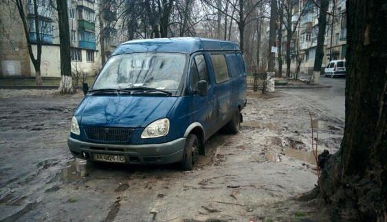 «Герой парковки» на «Газелі» покарав себе сам (ФОТО)