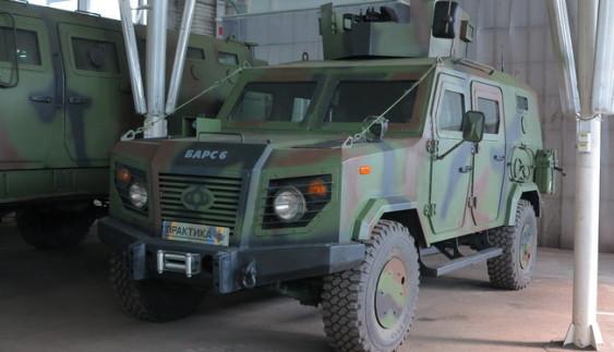 Журналістам розсекретили нові бронеавтомобілі «Практика» (відео)