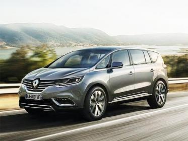 В Україні з'явився перший розкішний автомобіль Renault Espace