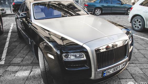 По-багатому: ювілейний Rolls-Royce Ghost Alpine у Львові