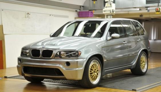 "Легендарний BMW X5 E53 ""Le Mans"""