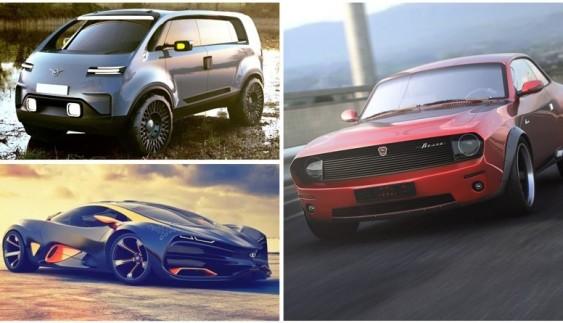 Як могли б виглядати російські автомобілі: круті концепти (фото)