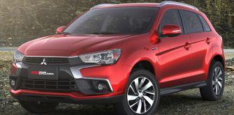 Mitsubishi покаже оновлений популярний кросовер ASX