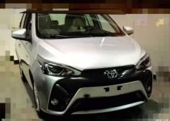 Опубліковано перші фото оновленої Toyota Yaris L