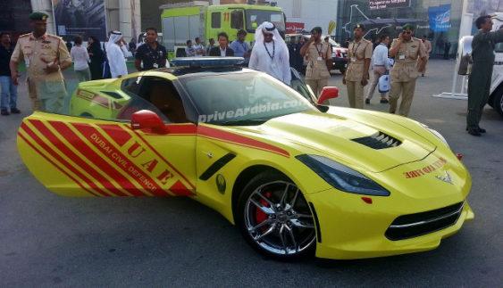 Найшвидший у світі пожежний автомобіль
