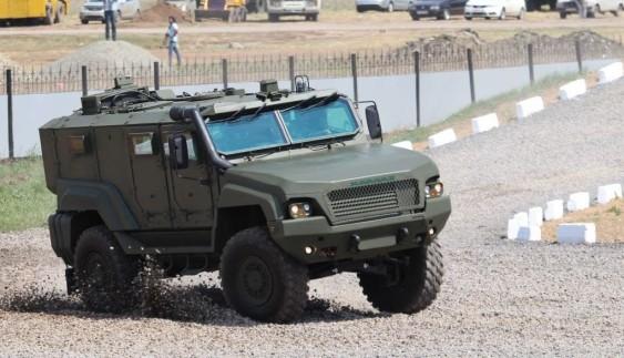 Бронеавтомобіль вітчизняного виробництва «Барс-8»
