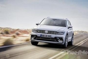 Volkswagen Tiguan виходить на європейський авторинок