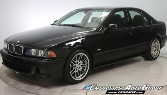 """""""Законсервовану"""" 13-річну BMW M5 виставили на продаж"""