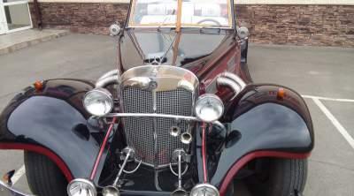 В Україні з'явився елітний раритетний Mercedes