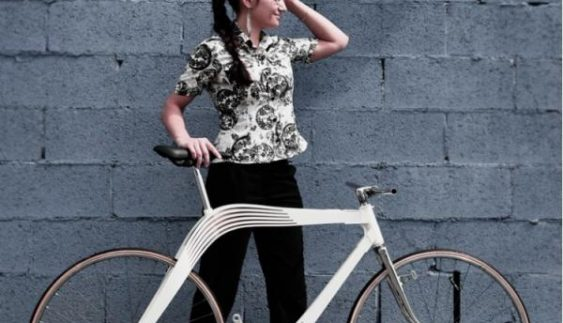 Українка придумала нестандартний доступний велосипед (ФОТО)