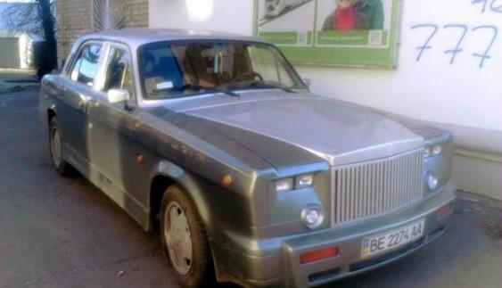 Українець перетворив Волгу на Rolls-Royce (ФОТО)