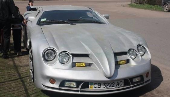 Українець продає саморобний суперкар за $100 тис. (ФОТО)