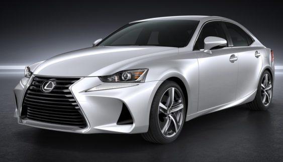 Lexus представив оновлений IS (ФОТО)