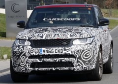 Land Rover тестує оновлений Range Rover Sport SVR (фото)