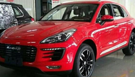 Китайський Porsche Macan: нові фото