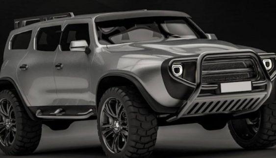Дизайнери УАЗа показали кросовер майбутнього