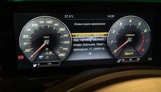 Активісти змусили Mercedes випускати автомобілі з україномовним інтерфейсом