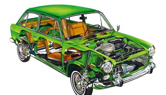 Fiat 124: як створювався відомий італійський седан