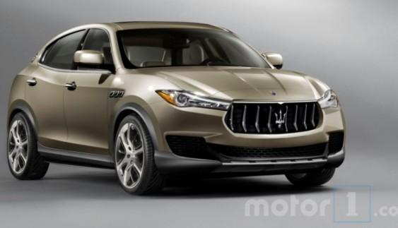 У Мережі з'явилися фото Maserati Kubang
