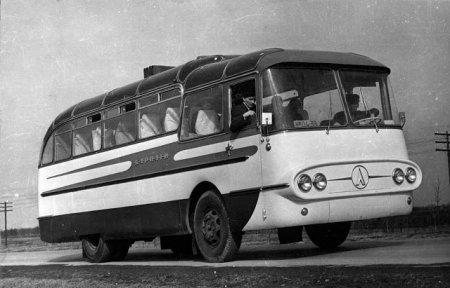ЛАЗ 698 Карпати-1 — дослідний автобус з революційним компонуванням