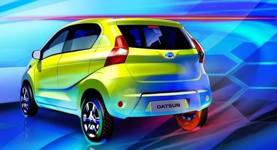 Datsun опублікував офіційні ескізи нового хетчбека