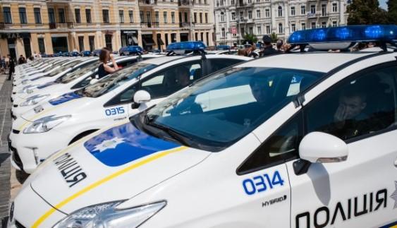 В МВС планують змінити автопарк поліції