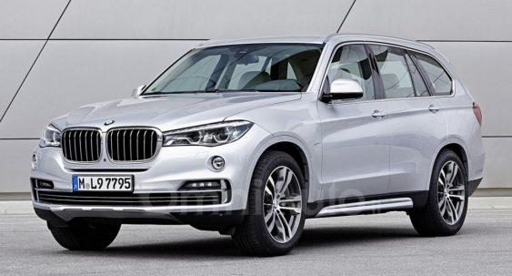 У мережі опублікували рендерне зображення BMW X7