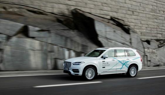 Volvo випробовує на дорогах Китаю 100 автономні машини