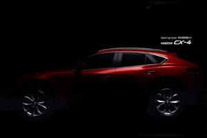 Нові зображення кросовера Mazda CX-4