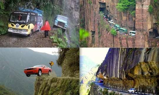 5 найбільш небезпечних доріг світу. Відео