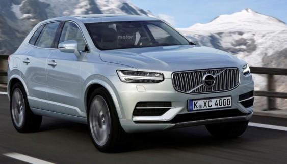 Volvo тестує компактний позашляховик XC40