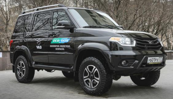 «УАЗ» представив газовий «Патріот»