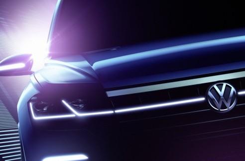 Volkswagen опублікував тизери нового позашляховика