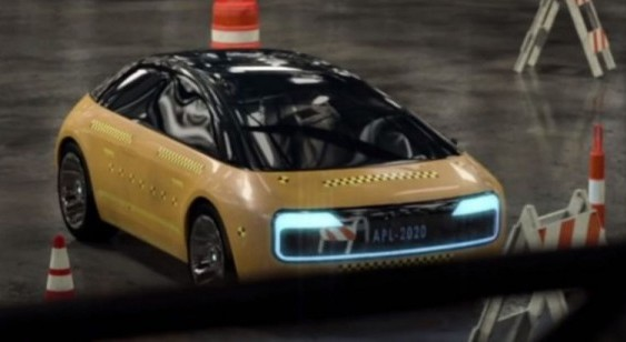 Вперше сфотографували прототип автомобіля Apple