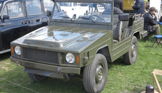 Армійський джип Volkswagen показали в Києві