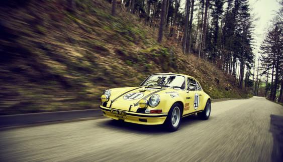 Porsche відреставрувало легендарний гоночний 911