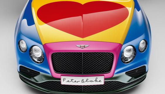 Bentley побудував унікальний різнокольоровий кабріолет